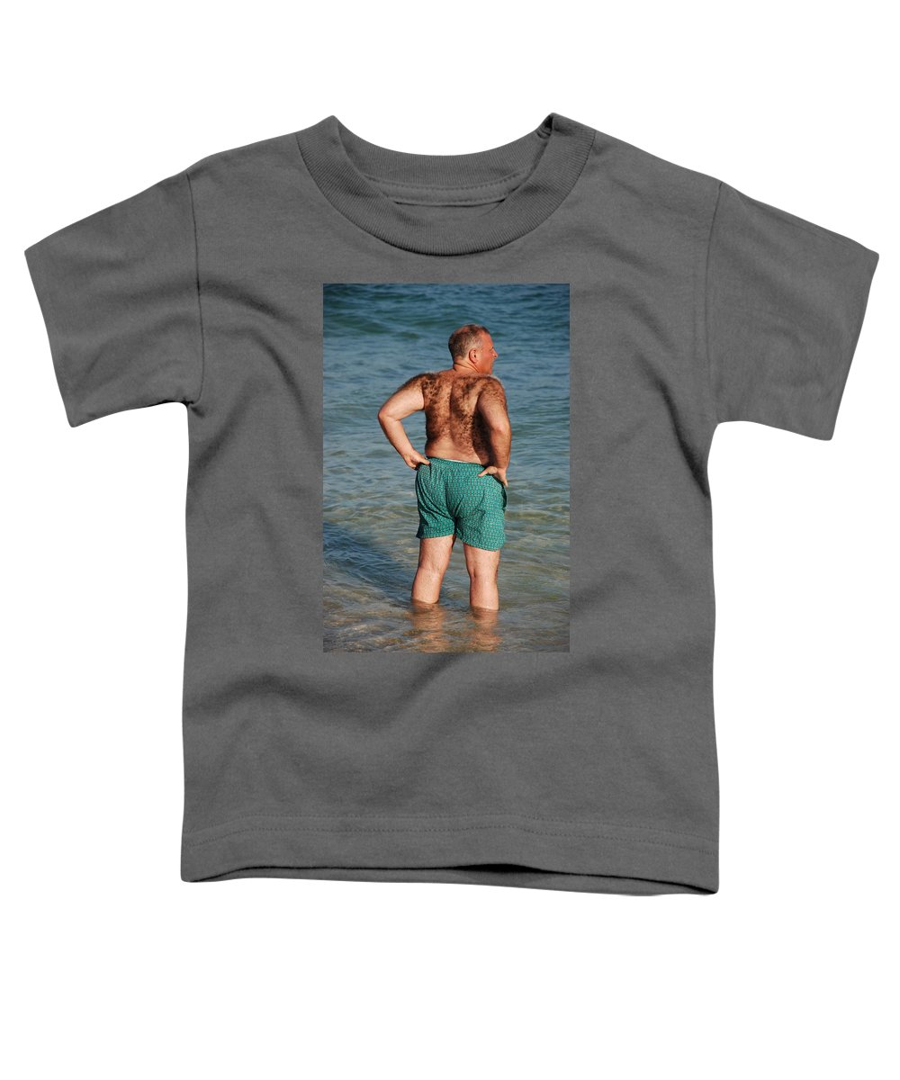 Man Toddler T-Shirt featuring the photograph Hairy Ocean by Rob Hans