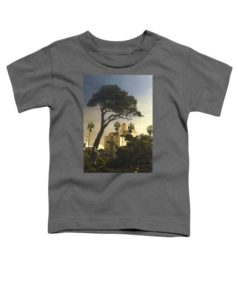 Landscape Toddler T-Shirt featuring the photograph Hotel California- La Jolla by Steve Karol
