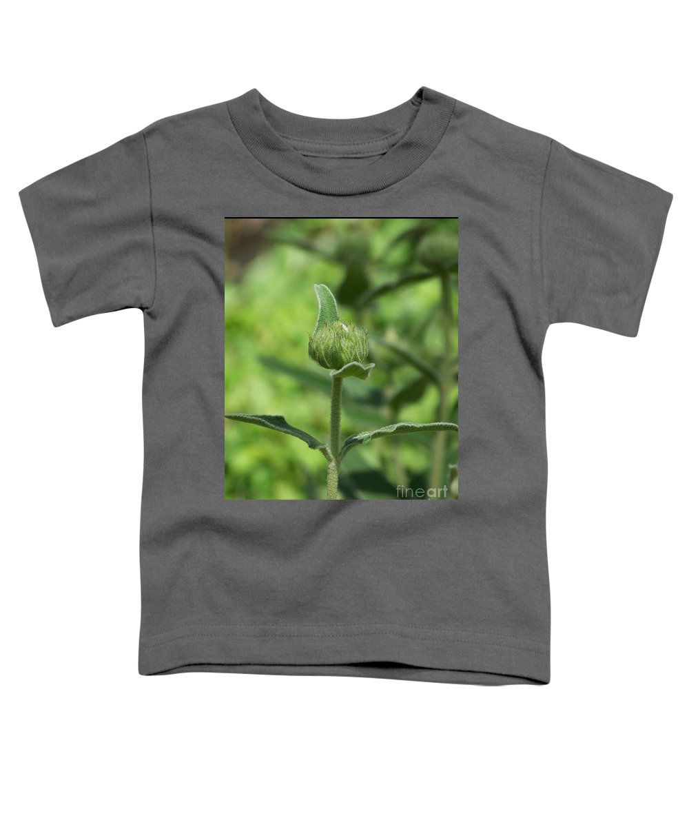 Plants Toddler T-Shirt featuring the photograph Its A Green World by Kathy McClure