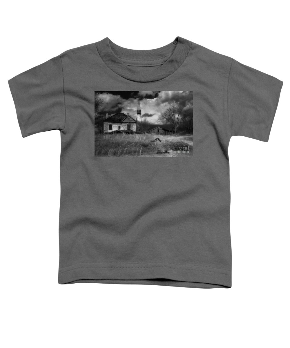 Farms Toddler T-Shirt featuring the photograph Old Georgia Farm by Richard Rizzo
