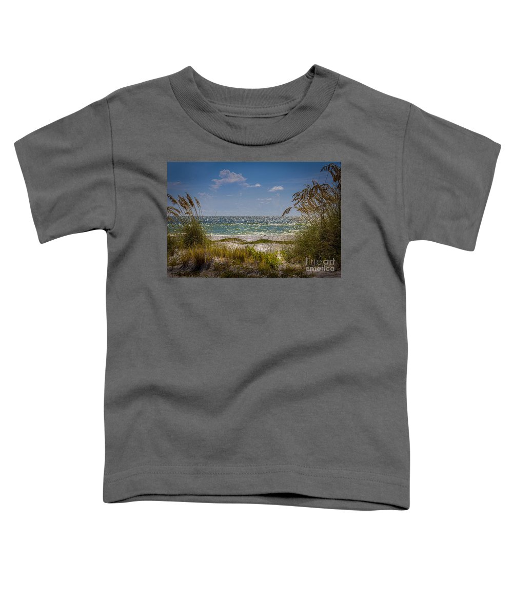 On A Clear Day Toddler T-Shirt featuring the photograph On A Clear Day by Marvin Spates