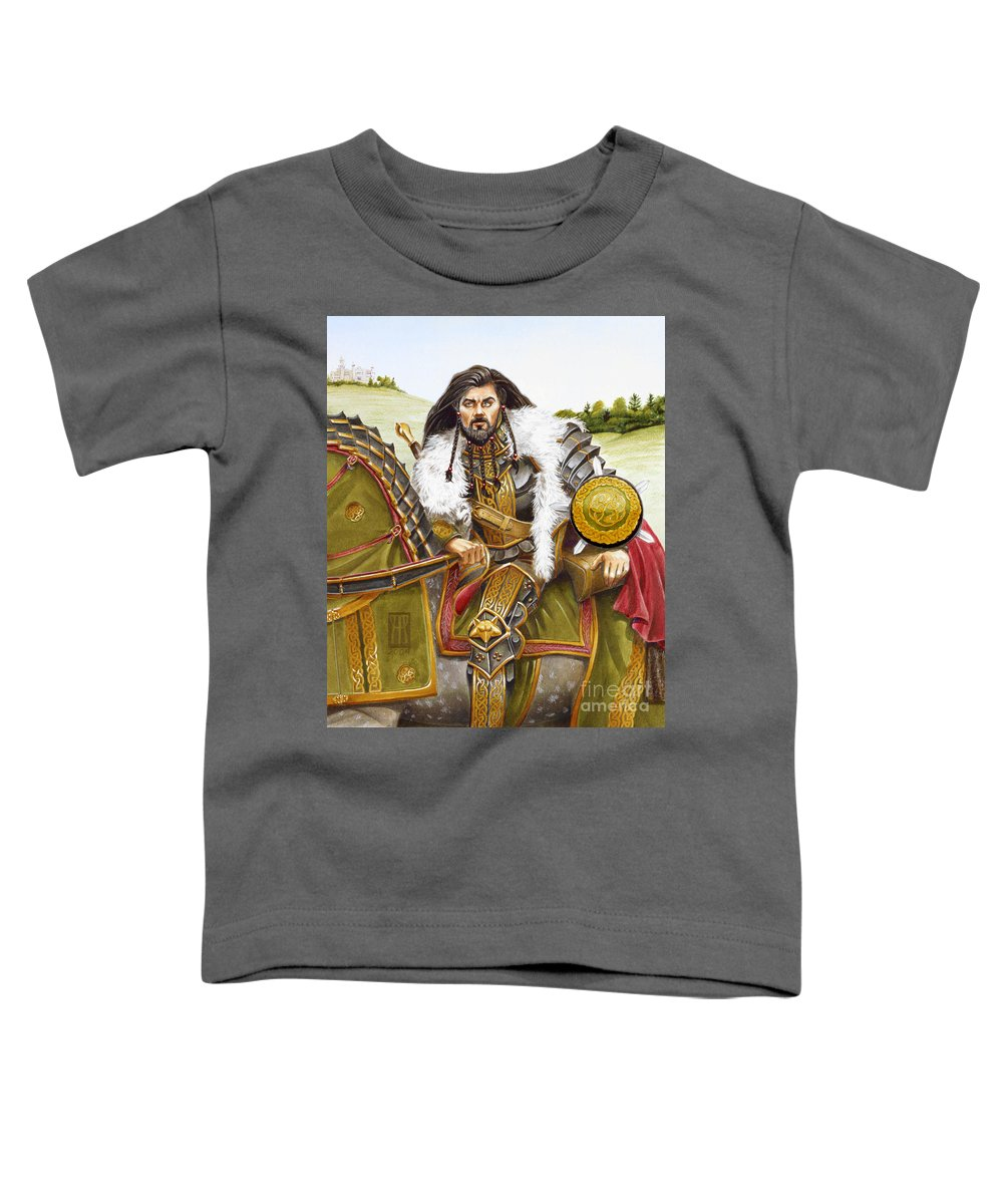 Fine Art Toddler T-Shirt featuring the painting Sir Marhaus by Melissa A Benson