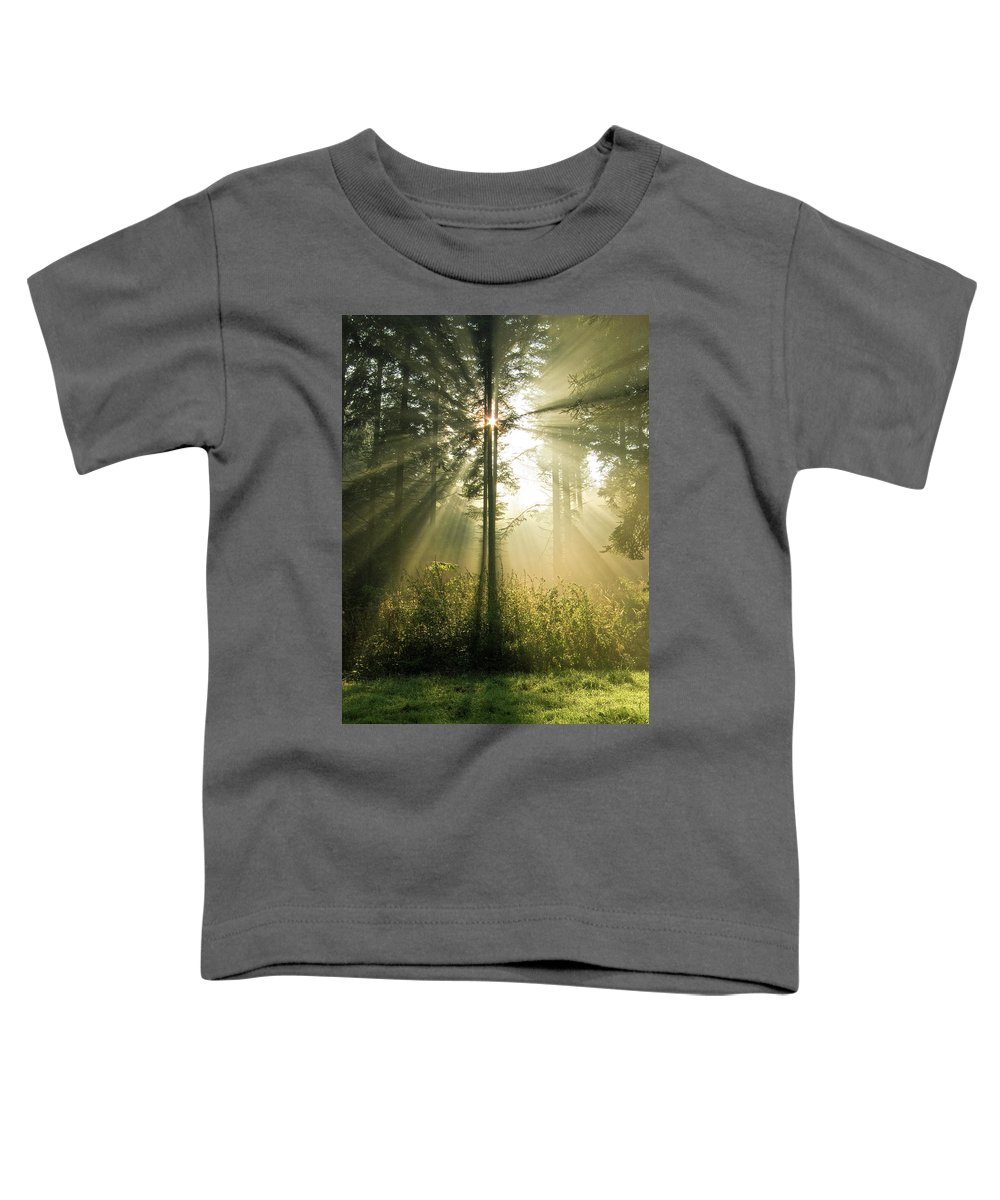 Nature Toddler T-Shirt featuring the photograph Splendour by Daniel Csoka