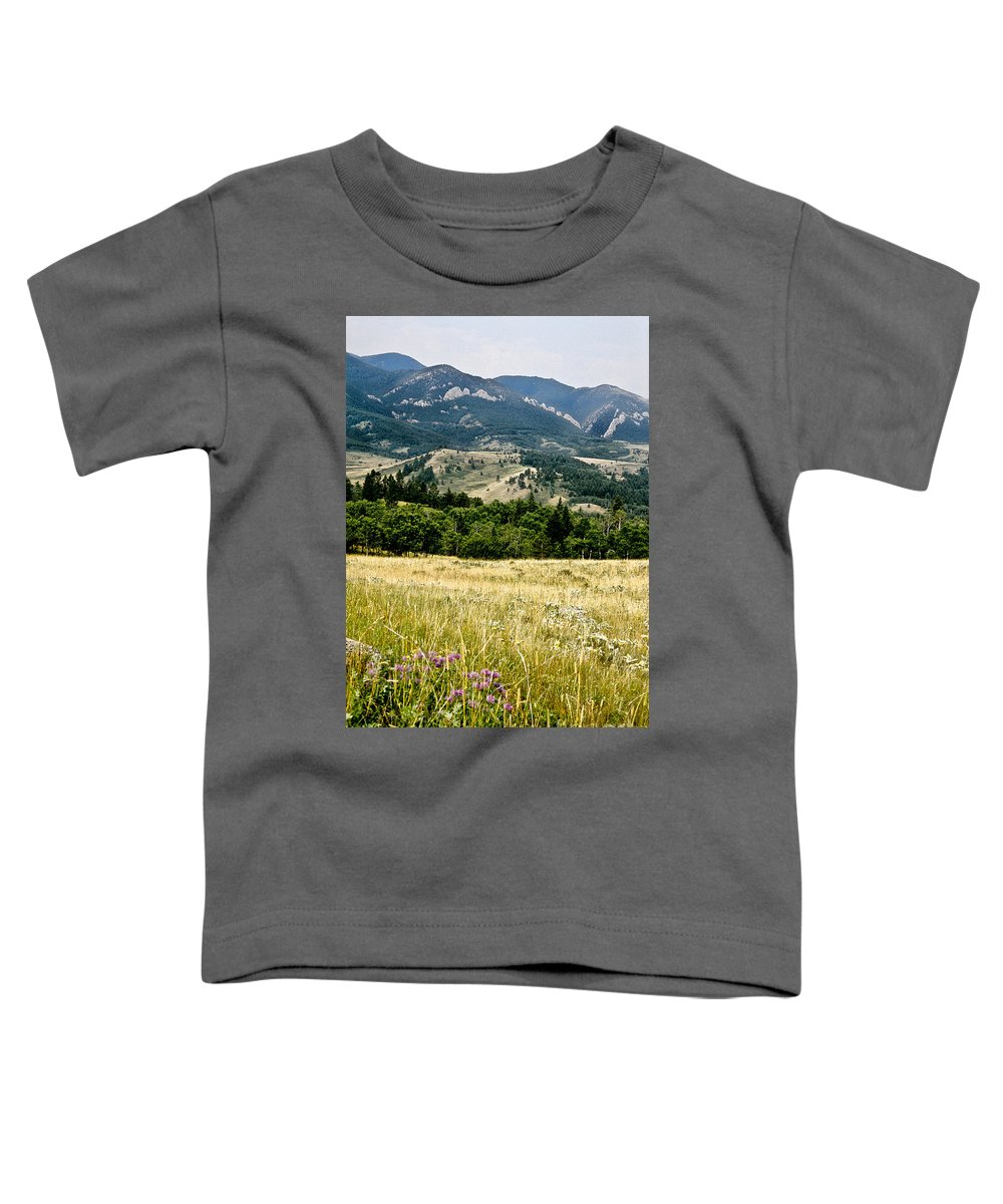 Wilderness Toddler T-Shirt featuring the photograph Washake Wilderness by Kathy McClure