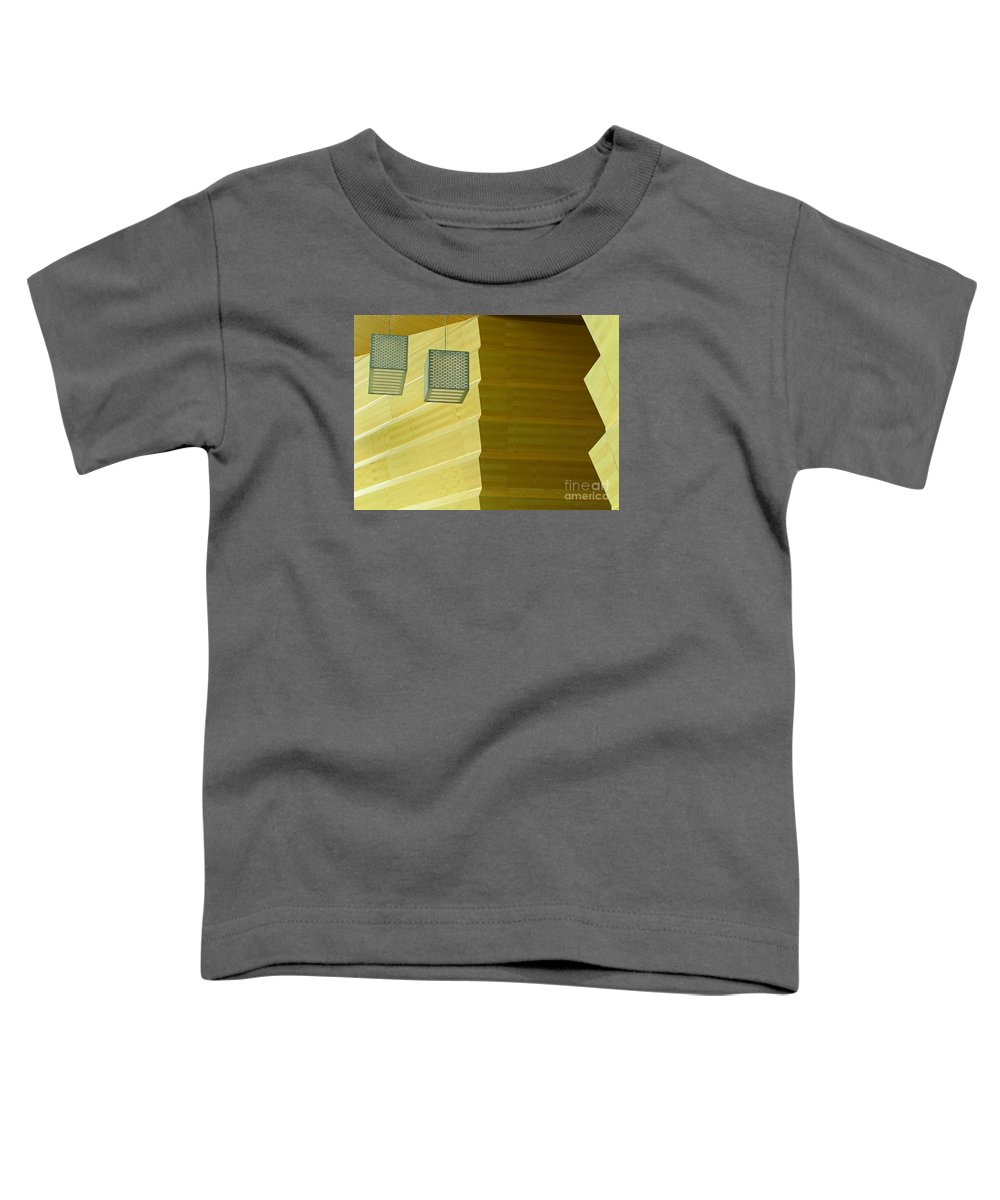 Zig-zag Toddler T-Shirt featuring the photograph Zig-zag by Ann Horn