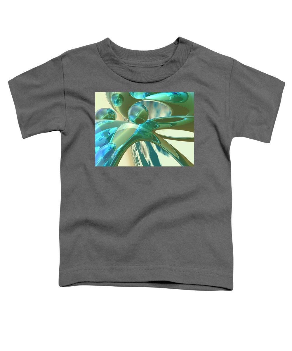Scott Piers Toddler T-Shirt featuring the painting Ashton by Scott Piers