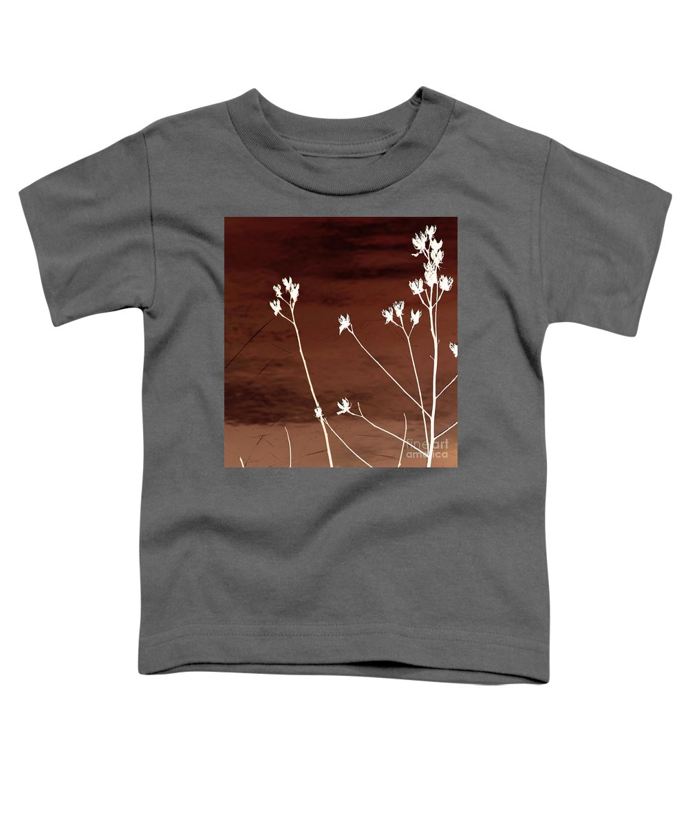 Flowers Toddler T-Shirt featuring the photograph Floral by Amanda Barcon