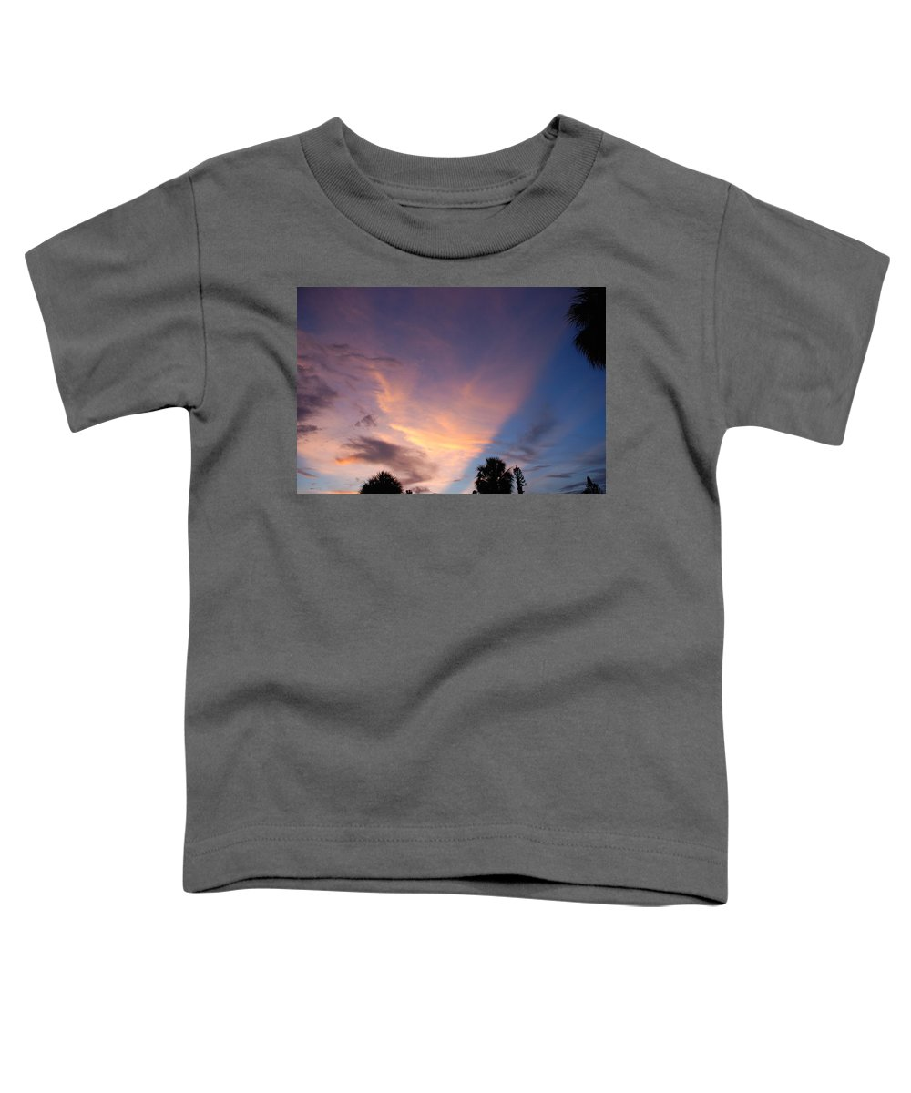 Sunset Toddler T-Shirt featuring the photograph Sunset At Pine Tree by Rob Hans