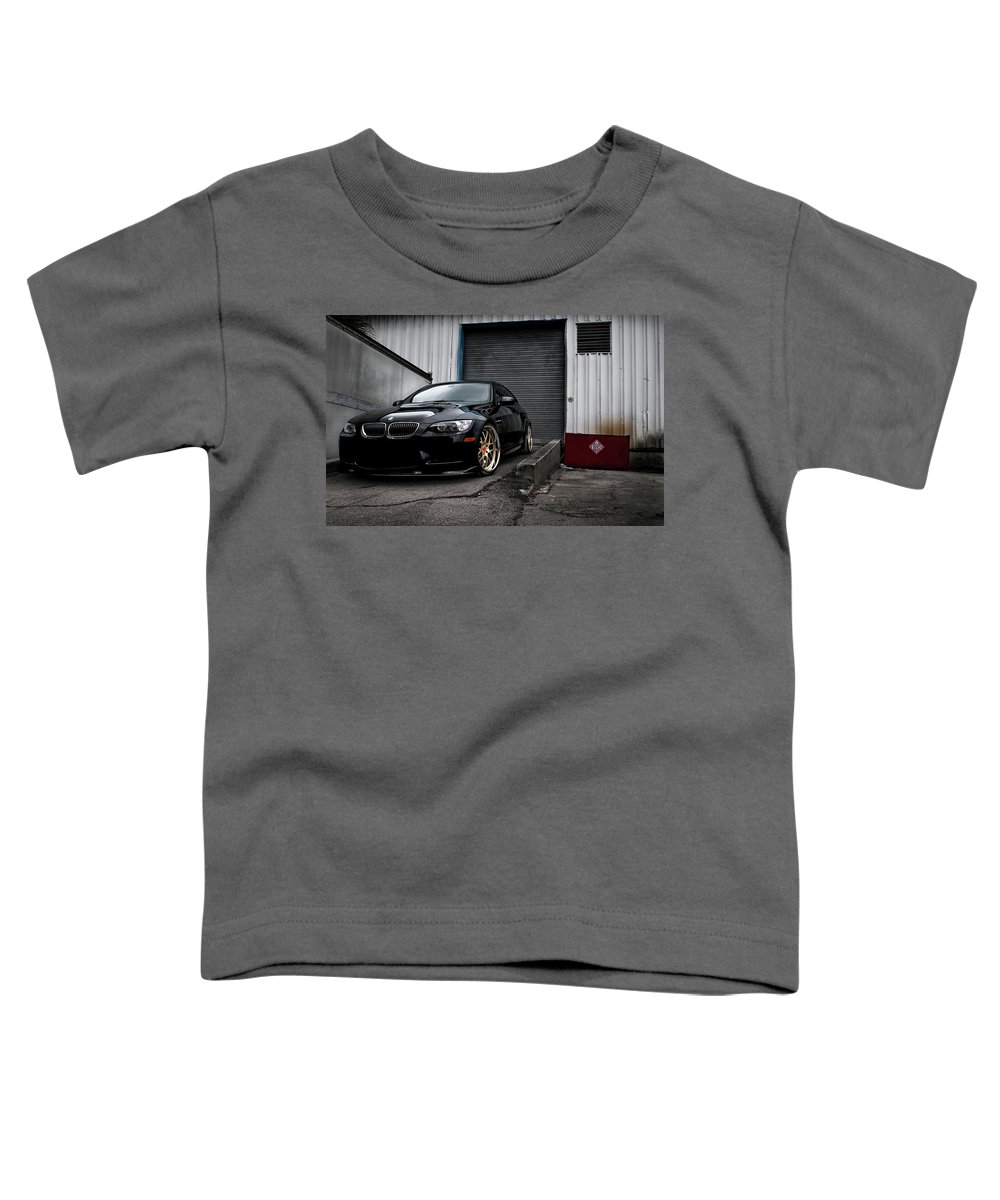 Bmw Toddler T-Shirt featuring the photograph Bmw by Mariel Mcmeeking