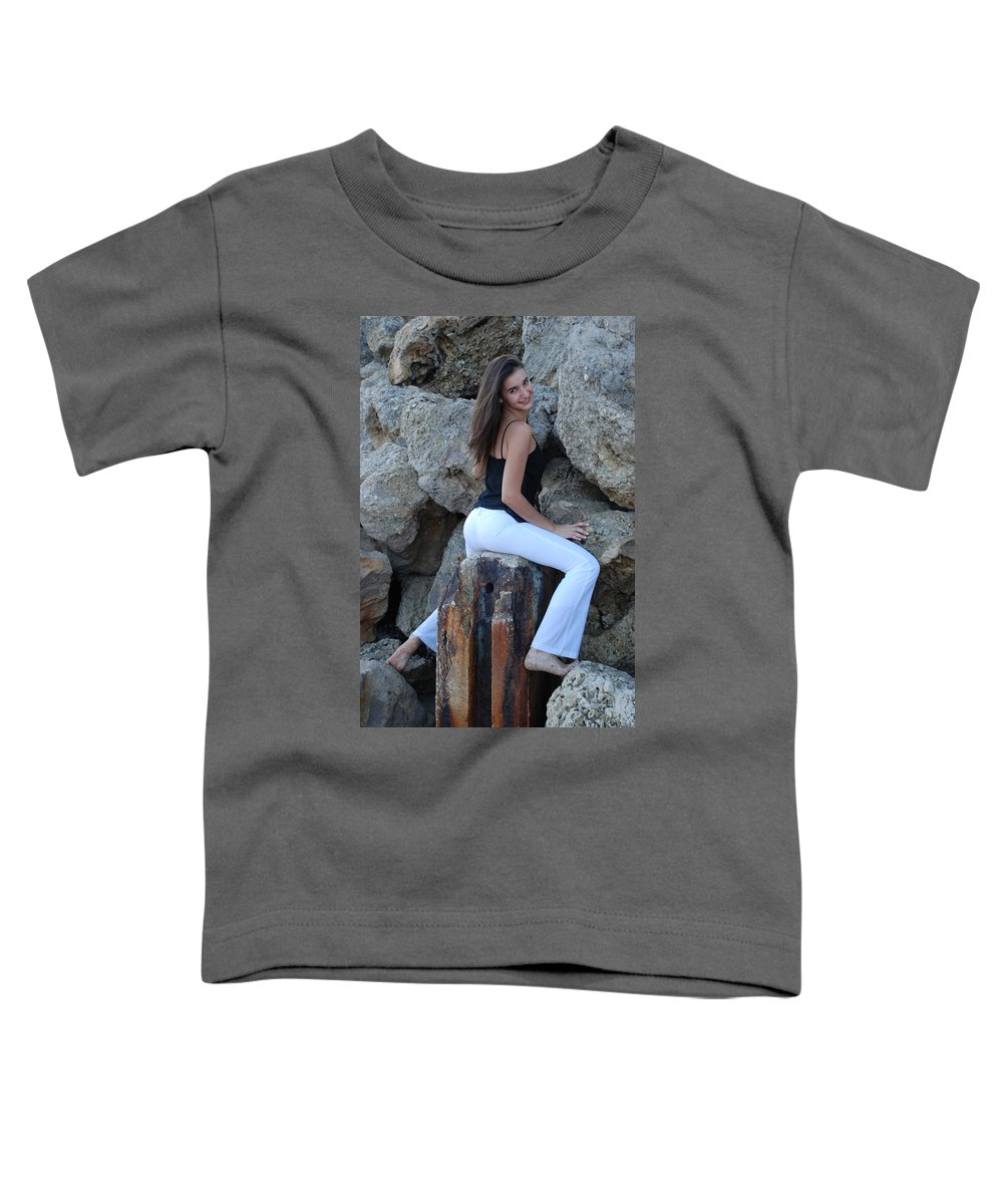 Women Toddler T-Shirt featuring the photograph Gisele by Rob Hans