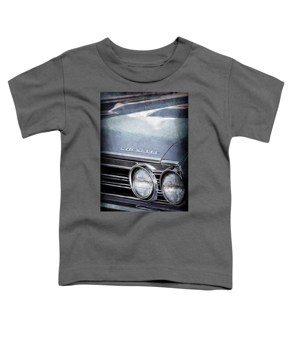 1967 Chevrolet Chevelle Ss Super Sport Emblem -0413ac Toddler T-Shirt
