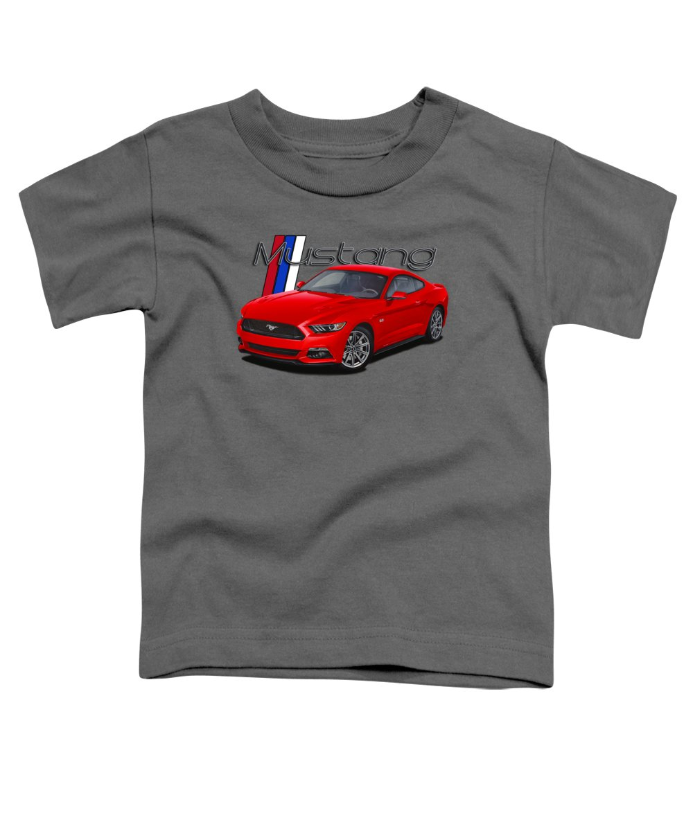 Fastback Digital Art Toddler T-Shirts