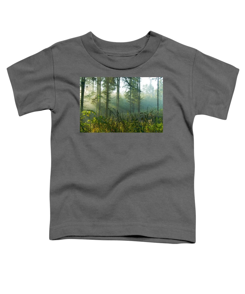 Nature Toddler T-Shirt featuring the photograph A New Day Has Come by Daniel Csoka