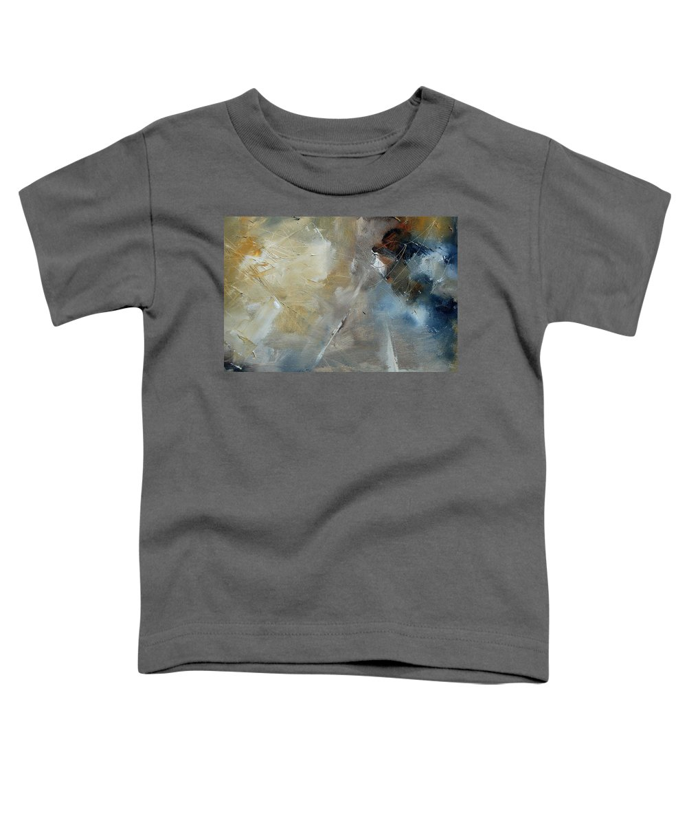Abstract Toddler T-Shirt featuring the painting Abstract 904060 by Pol Ledent