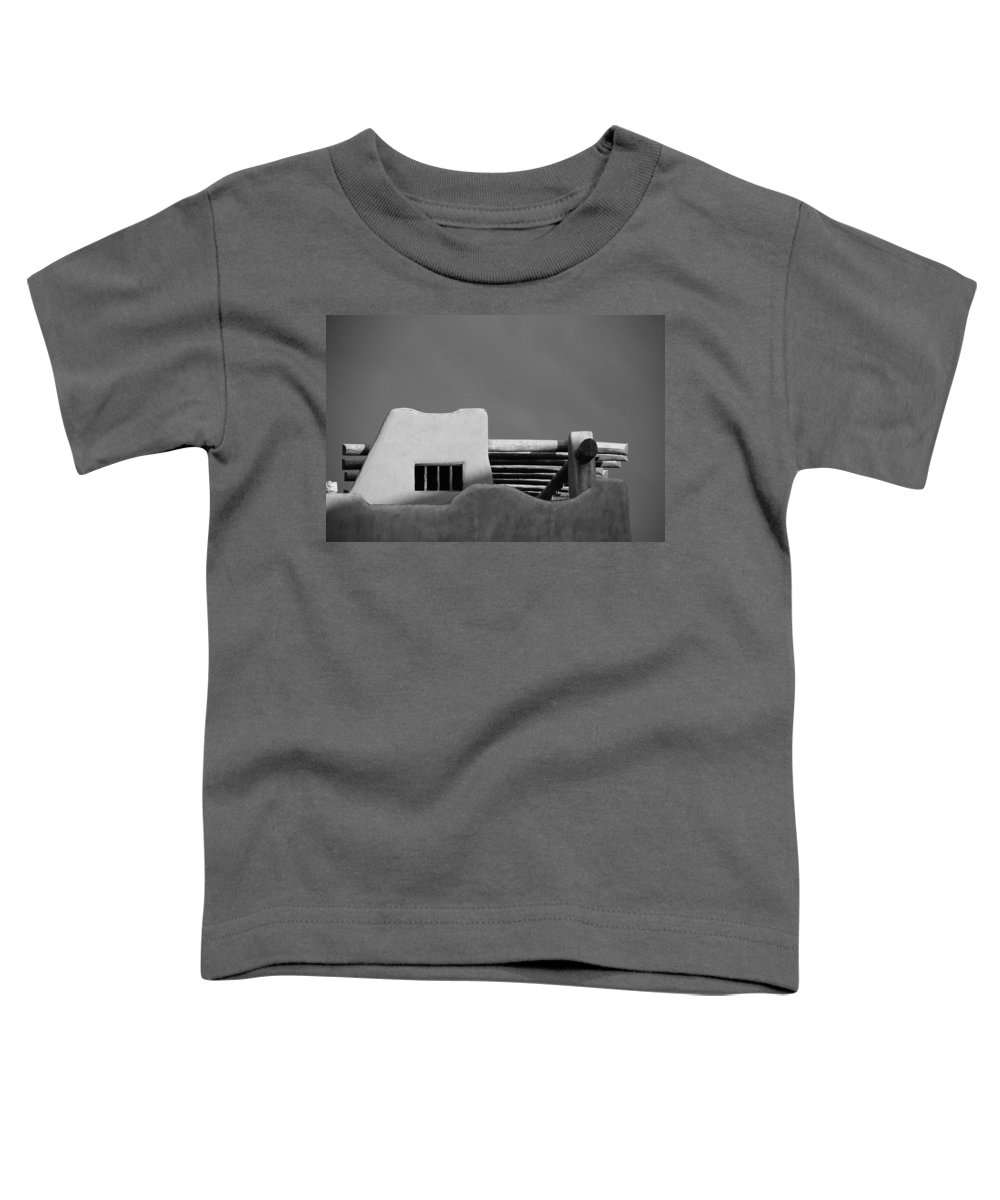 Architecture Toddler T-Shirt featuring the photograph Adobe Turrett by Rob Hans