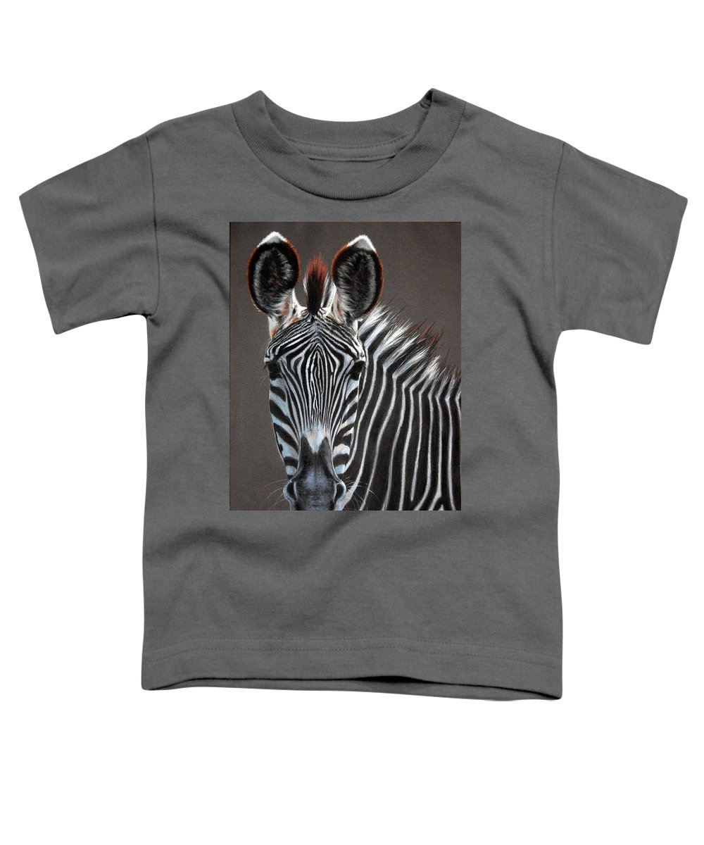 Wildlife Toddler T-Shirt featuring the painting African Beauty by Deb Owens-Lowe