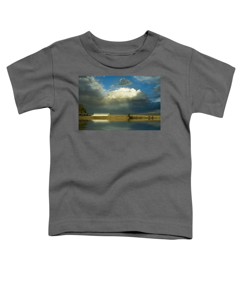 Storm Toddler T-Shirt featuring the photograph After The Storm by Jerry McElroy