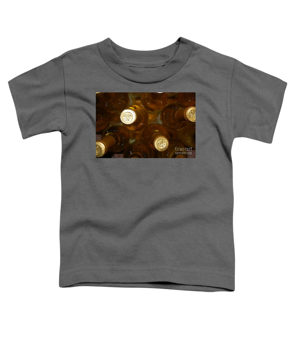 Wine Toddler T-Shirt featuring the photograph Aged Well by Debbi Granruth