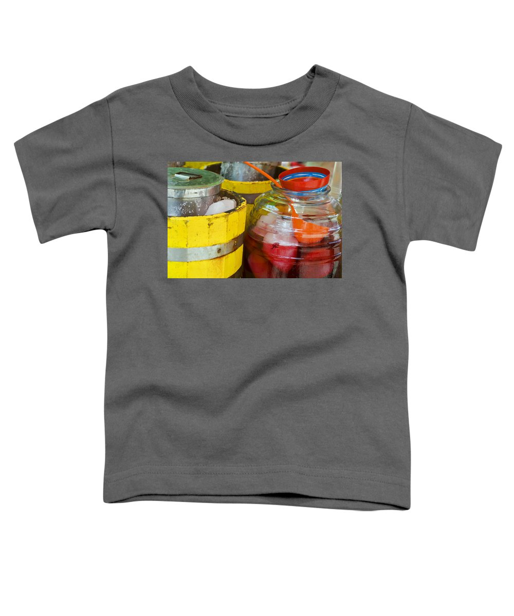 Beverage Toddler T-Shirt featuring the photograph Agua De Hamaica by Skip Hunt