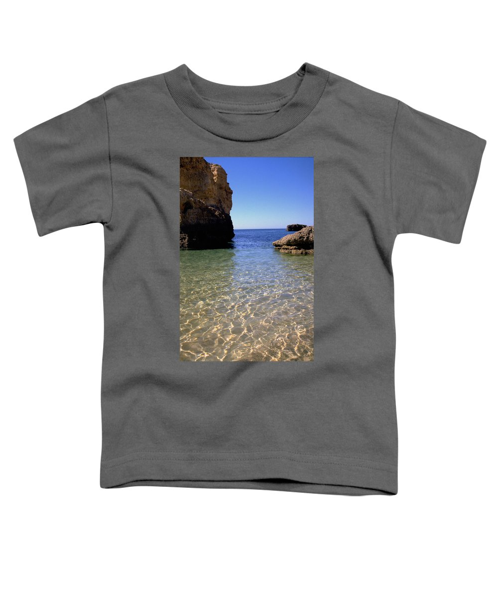 Algarve Toddler T-Shirt featuring the photograph Algarve I by Flavia Westerwelle