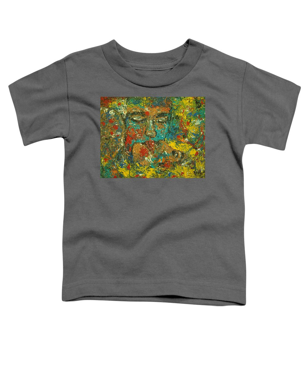 Romantic Toddler T-Shirt featuring the painting Allure Of Love by Natalie Holland