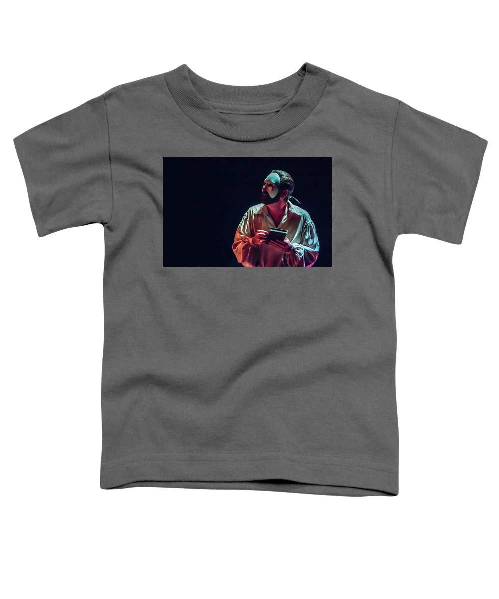 Live Theater Toddler T-Shirt featuring the photograph American Phantom by Alan D Smith
