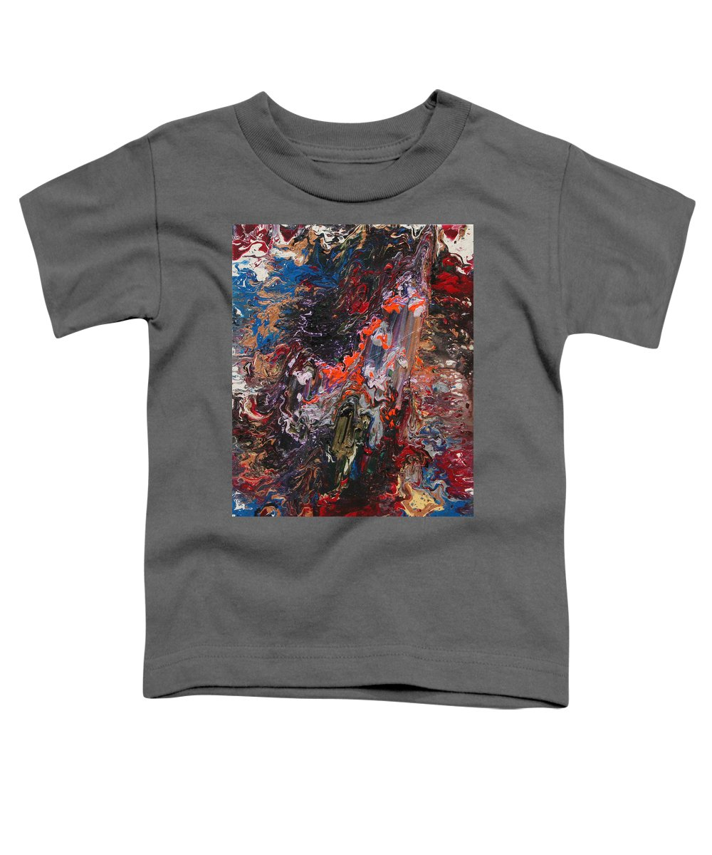Fusionart Toddler T-Shirt featuring the painting Angel Rising by Ralph White