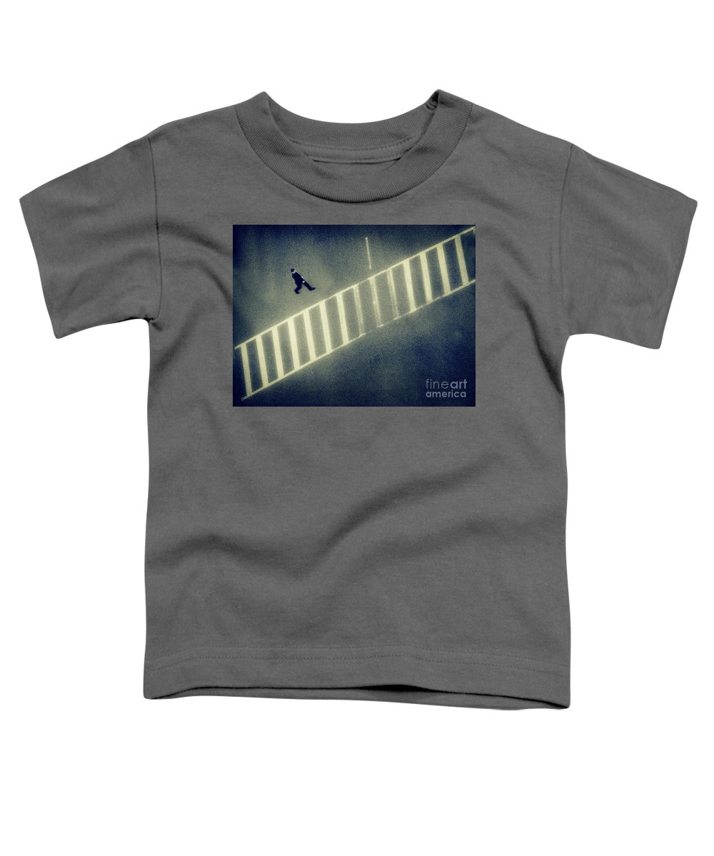 City Toddler T-Shirt featuring the photograph Anonymity by Dana DiPasquale