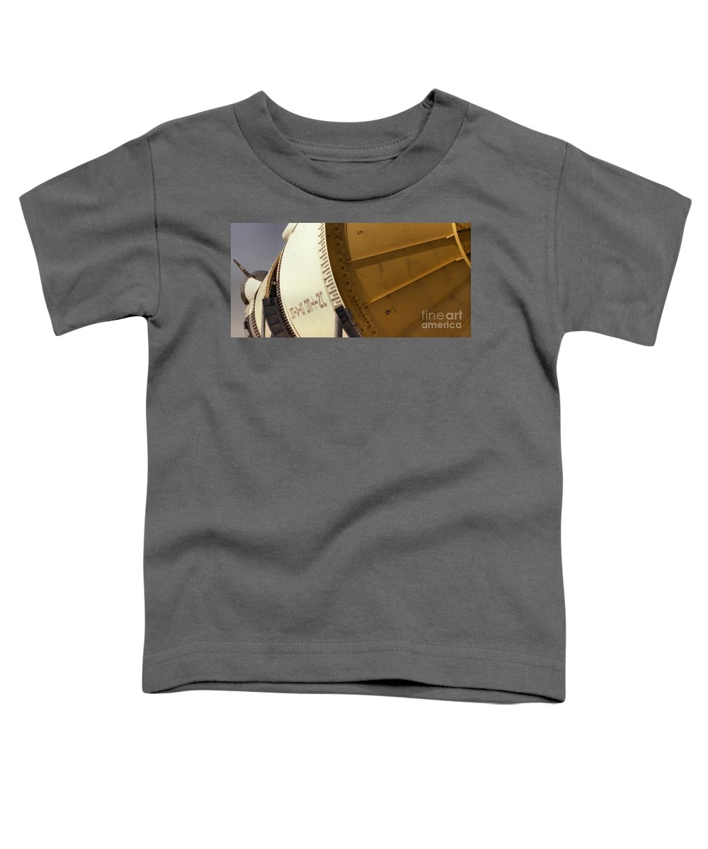 Technology Toddler T-Shirt featuring the photograph Apollo Rocket by Richard Rizzo