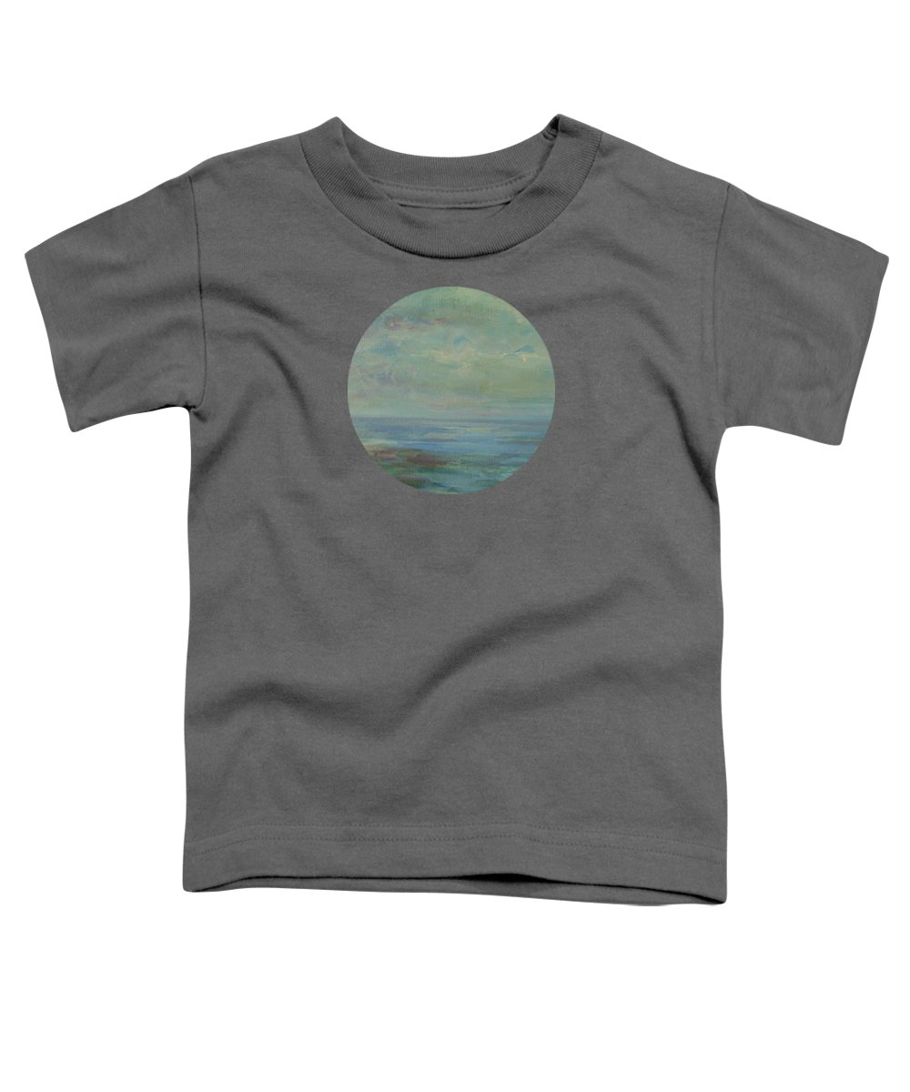Impressionism Toddler T-Shirt featuring the painting Days For Dreaming by Mary Wolf