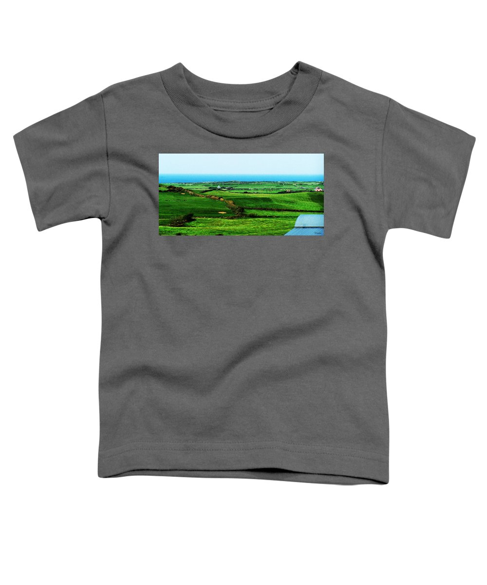 Ireland Toddler T-Shirt featuring the photograph Atlantic View Doolin Ireland by Teresa Mucha