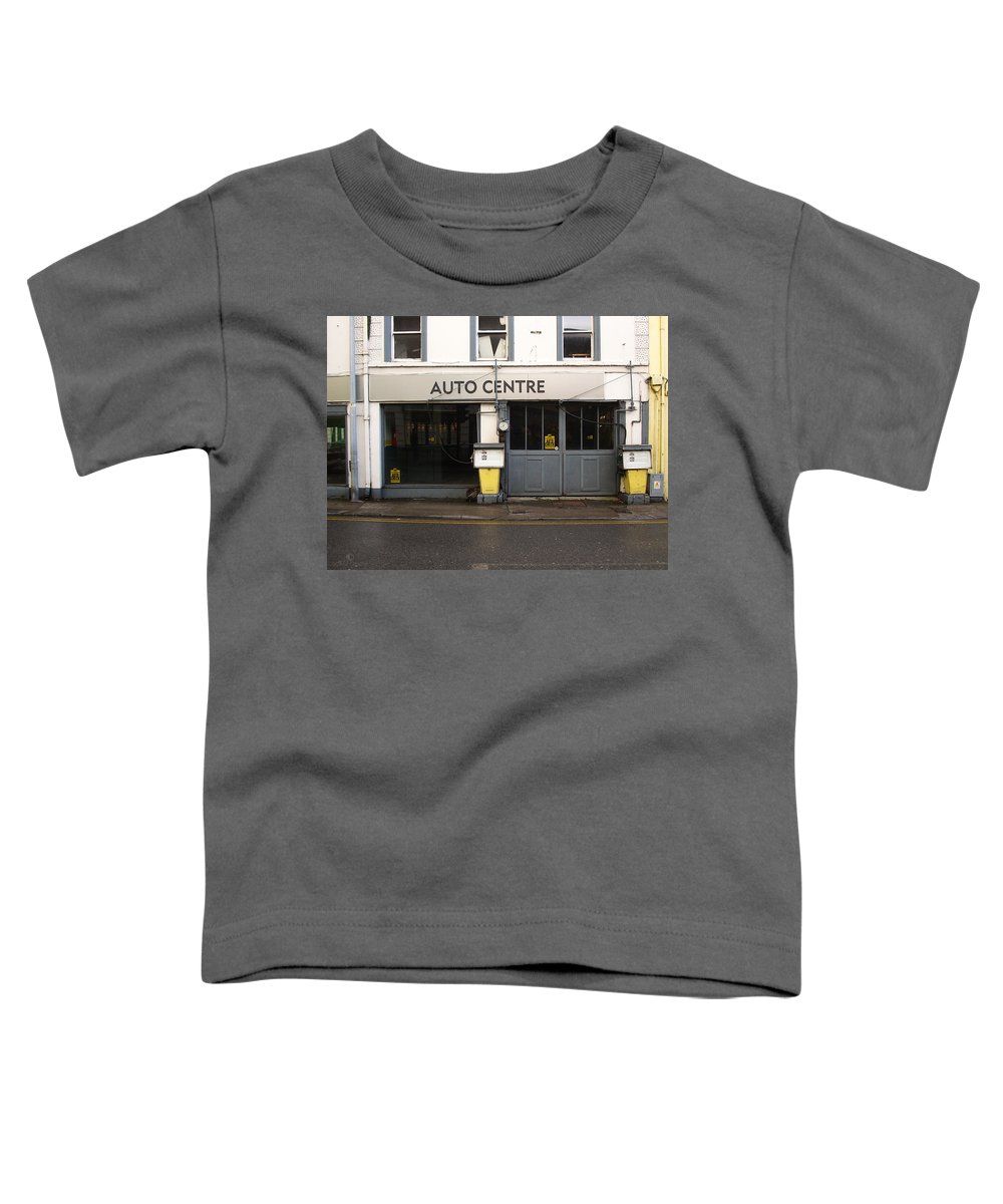 Auto Toddler T-Shirt featuring the photograph Auto Centre by Tim Nyberg