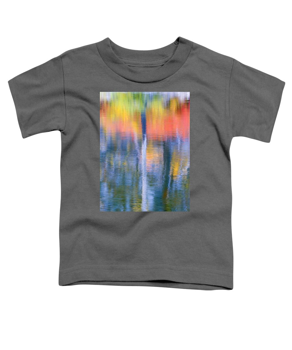 Reflection Toddler T-Shirt featuring the photograph Autumn Resurrection by Mike Dawson