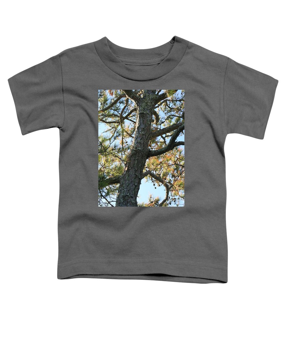 Tree Toddler T-Shirt featuring the photograph Bald Head Tree by Nadine Rippelmeyer