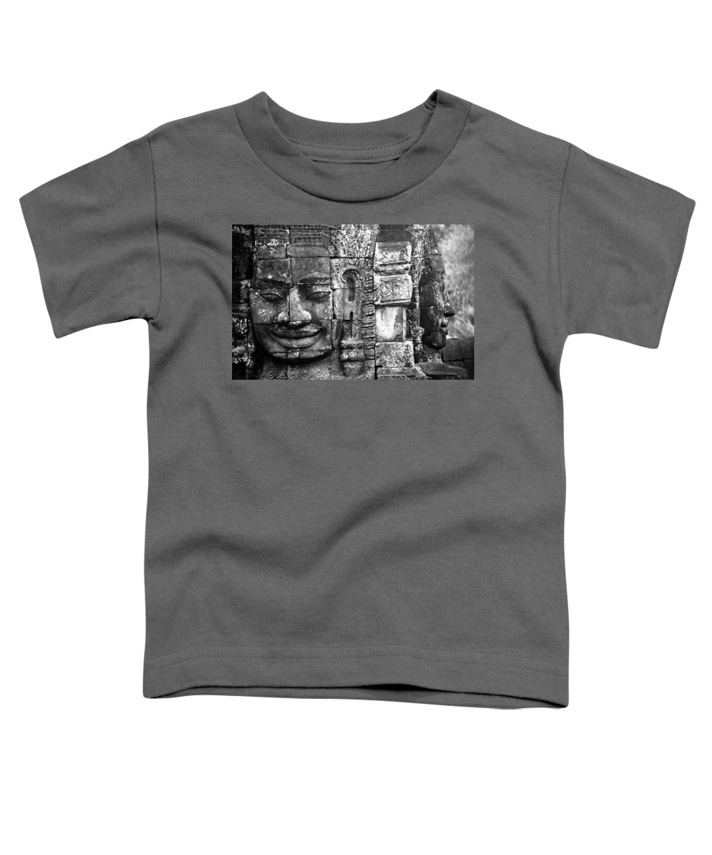 Bayon Temple Toddler T-Shirt featuring the photograph Bayon IIi by Patrick Klauss