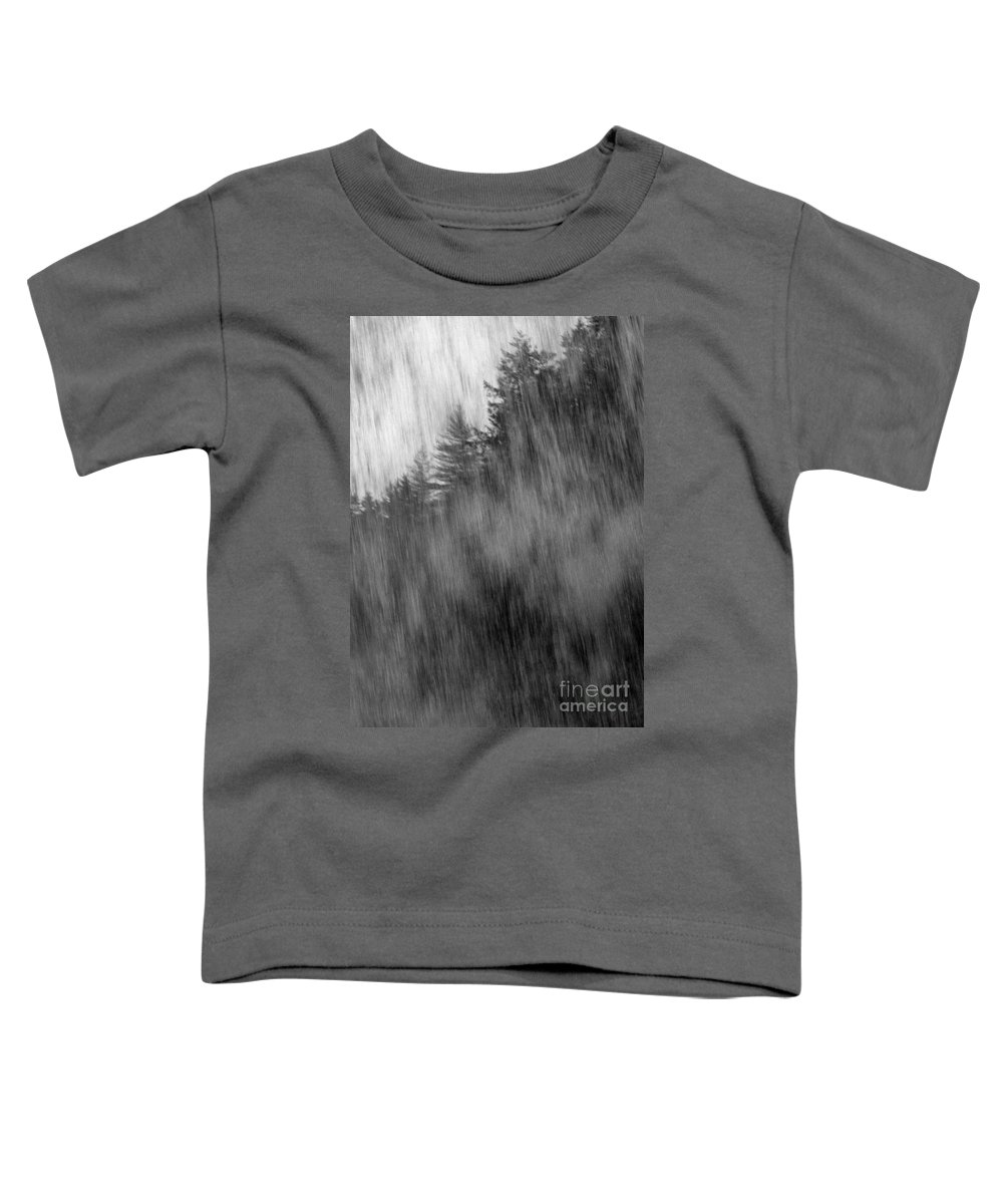 Waterfalls Toddler T-Shirt featuring the photograph Behind The Falls by Richard Rizzo