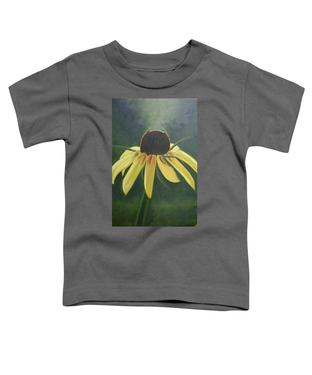 Flower Toddler T-Shirt featuring the painting Black Eyed Susan by Toni Berry