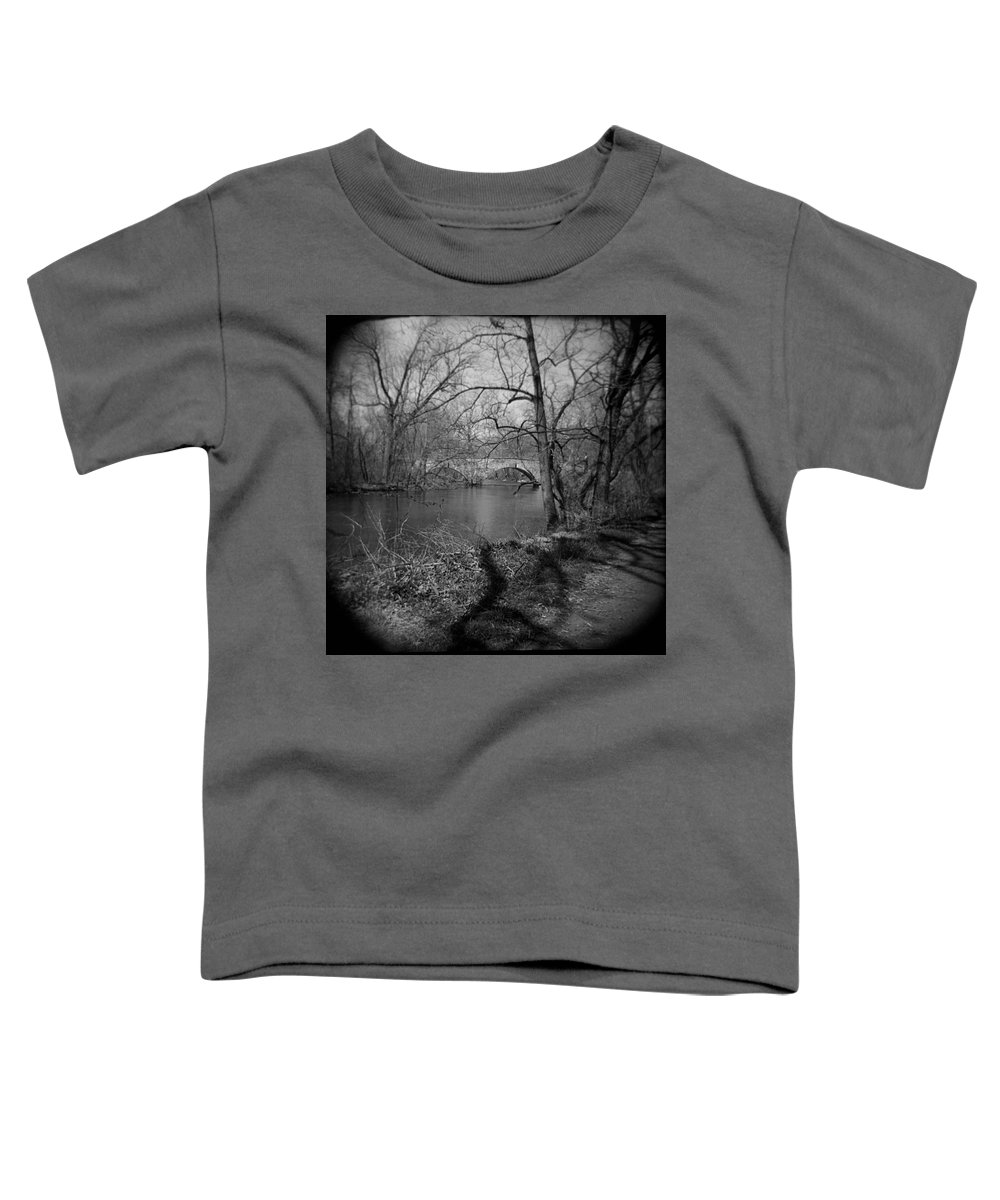 Photograph Toddler T-Shirt featuring the photograph Boiling Springs Stone Bridge by Jean Macaluso