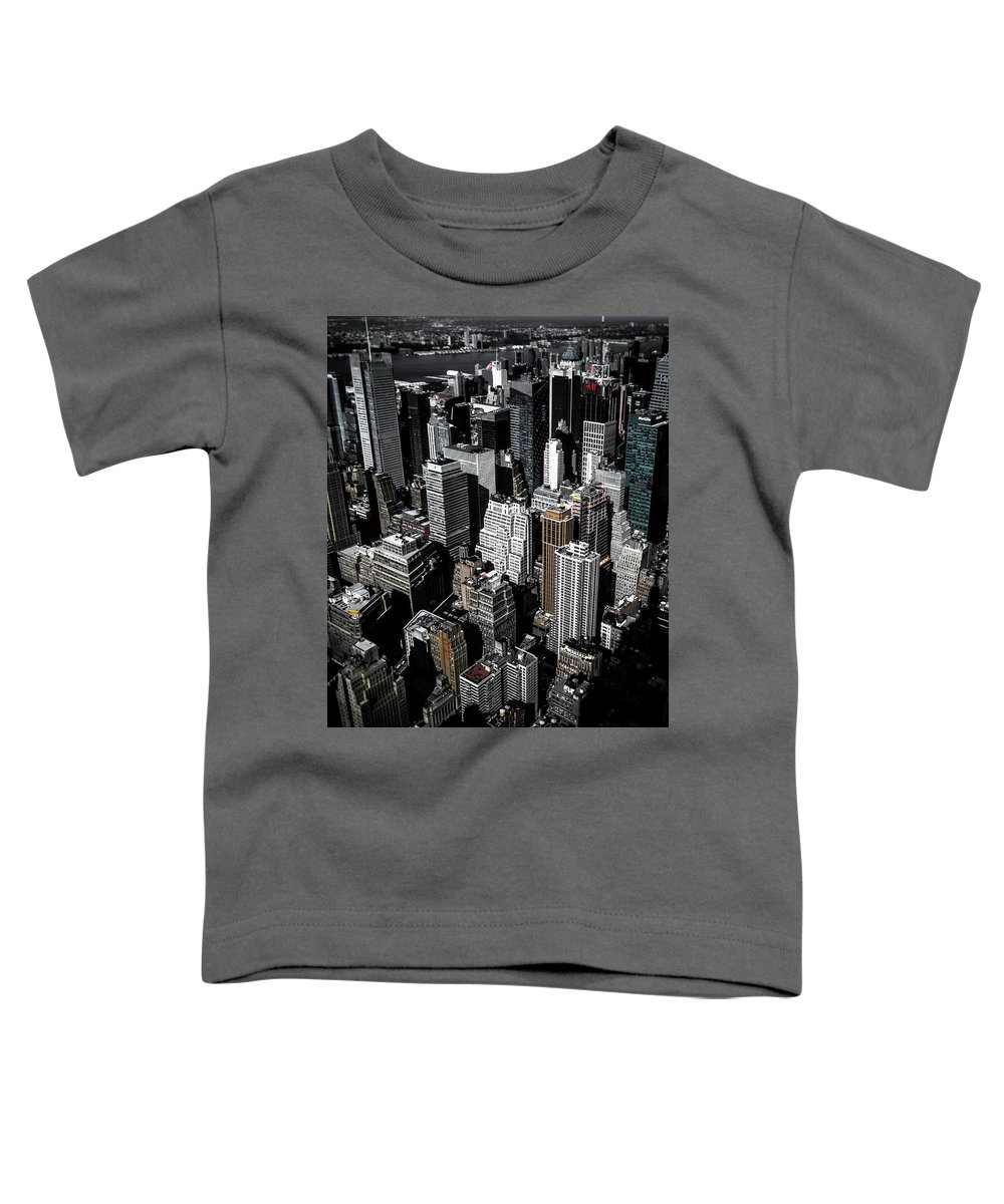Manhattan Toddler T-Shirt featuring the photograph Boxes Of Manhattan by Nicklas Gustafsson