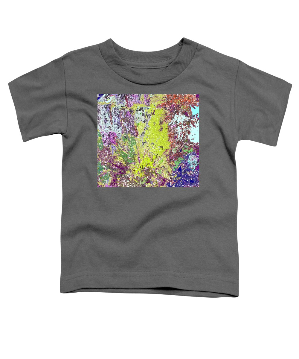 Abstract Toddler T-Shirt featuring the photograph Brimstone Fantasy by Ian MacDonald