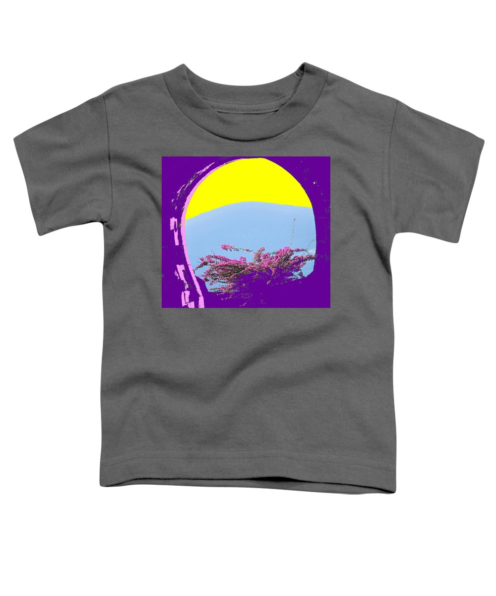 Brimstone Toddler T-Shirt featuring the photograph Brimstone Gate by Ian MacDonald