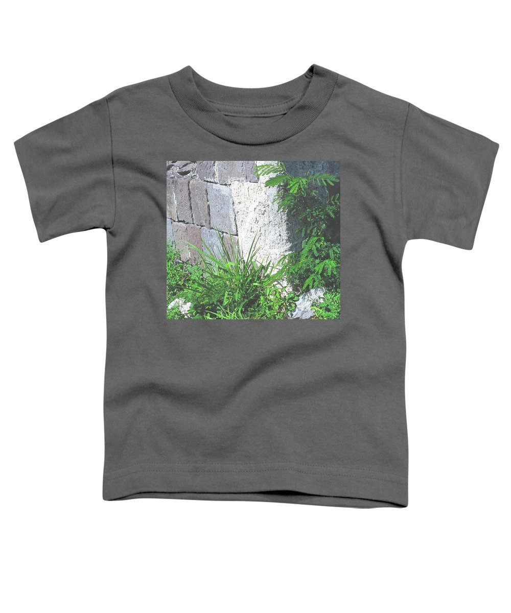 Brimstone Toddler T-Shirt featuring the photograph Brimstone Wall by Ian MacDonald