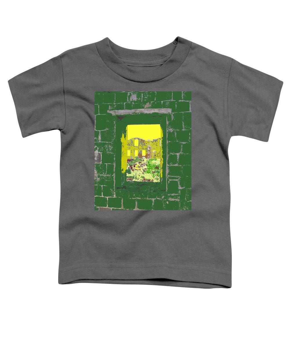Brimstone Toddler T-Shirt featuring the photograph Brimstone Window by Ian MacDonald