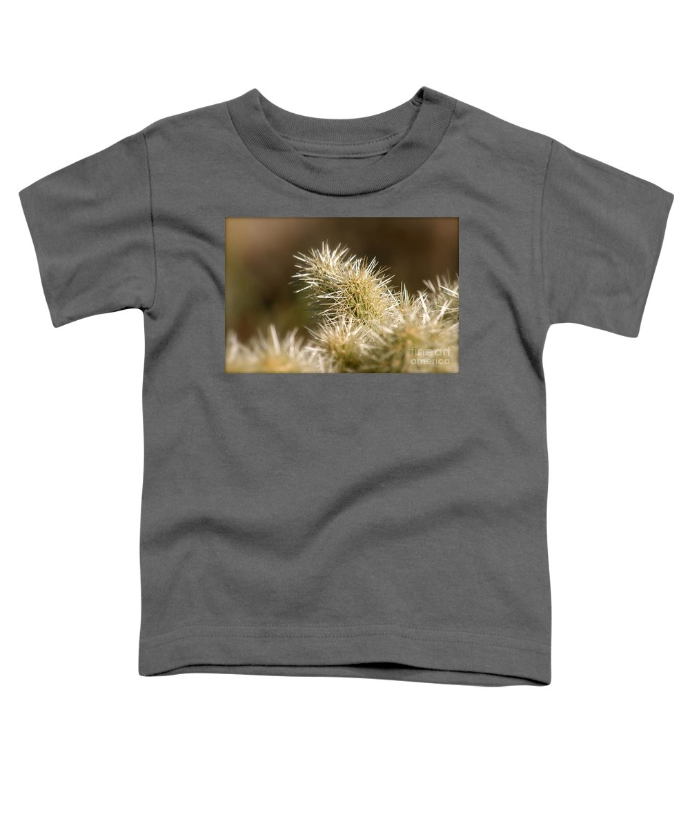 Cactus Toddler T-Shirt featuring the photograph Cacti by Nadine Rippelmeyer