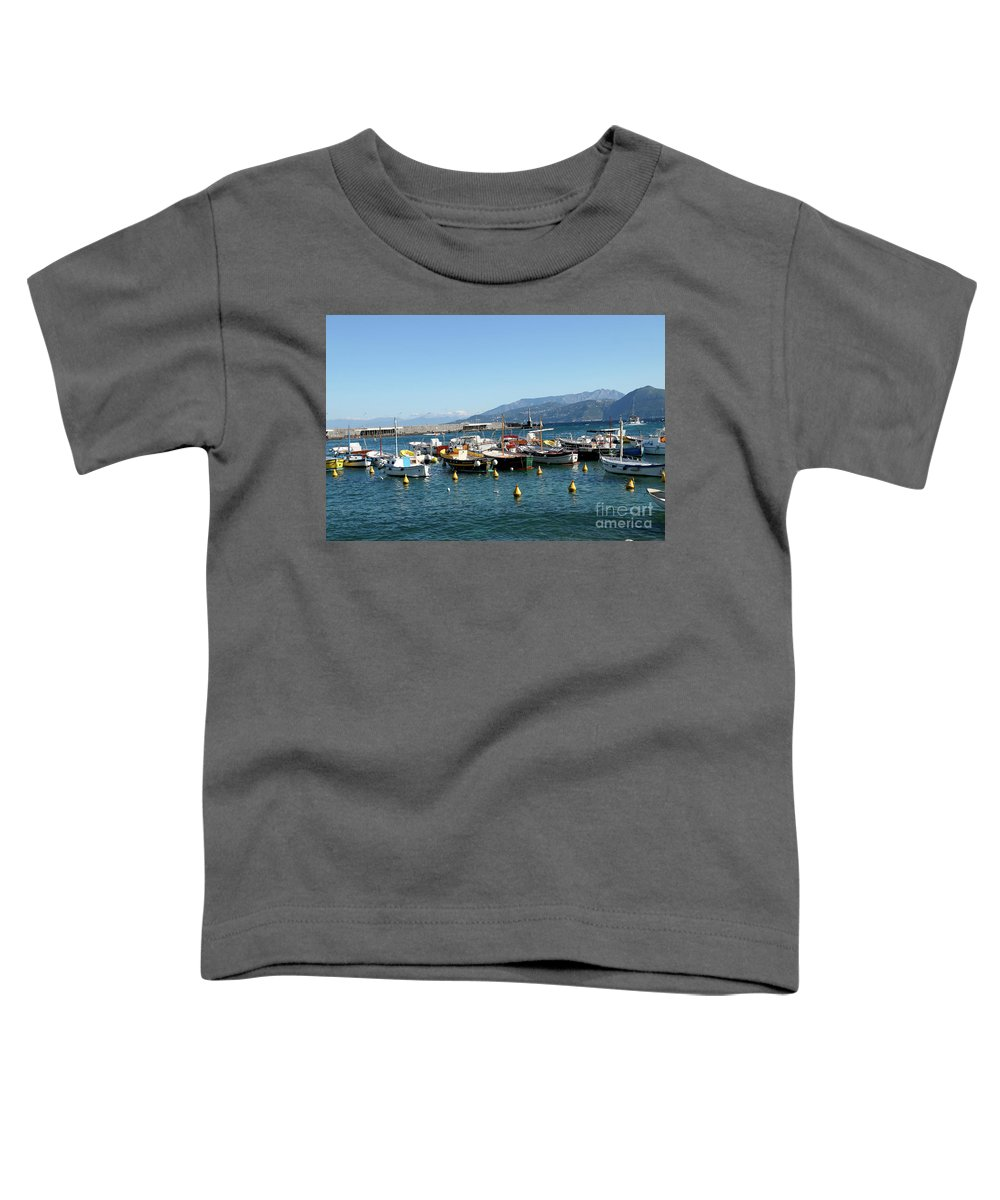 Capri Toddler T-Shirt featuring the photograph Capri, Campania, Italy by Lilach Weiss