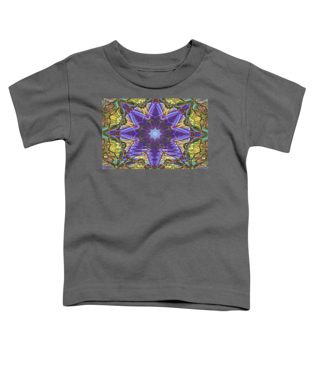 Abstract Toddler T-Shirt featuring the digital art Celtic Knot by Frederic Durville