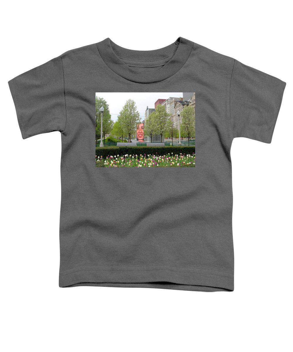 Chicago Toddler T-Shirt featuring the photograph Chicago by Jean Macaluso