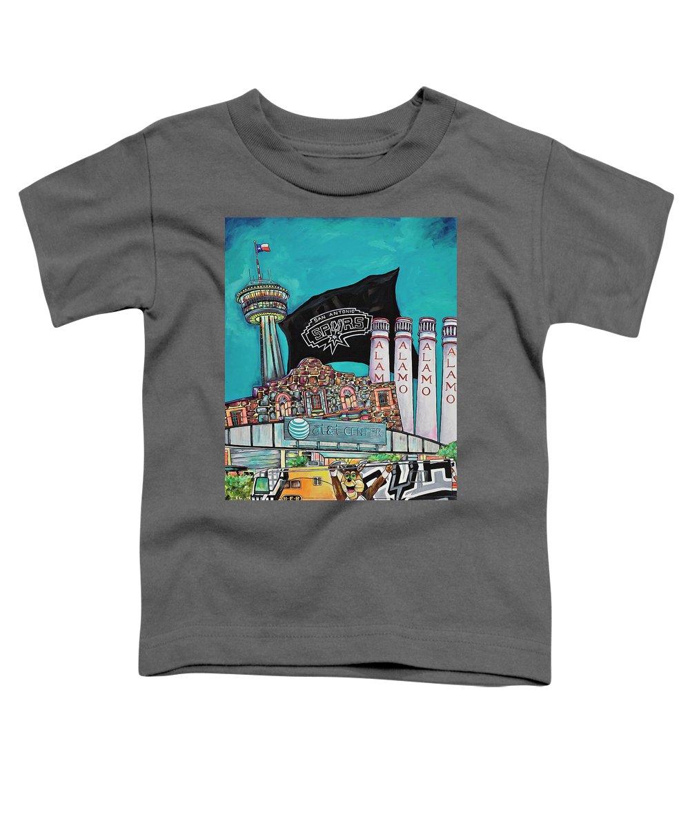 Smoke Stacks Paintings Toddler T-Shirts