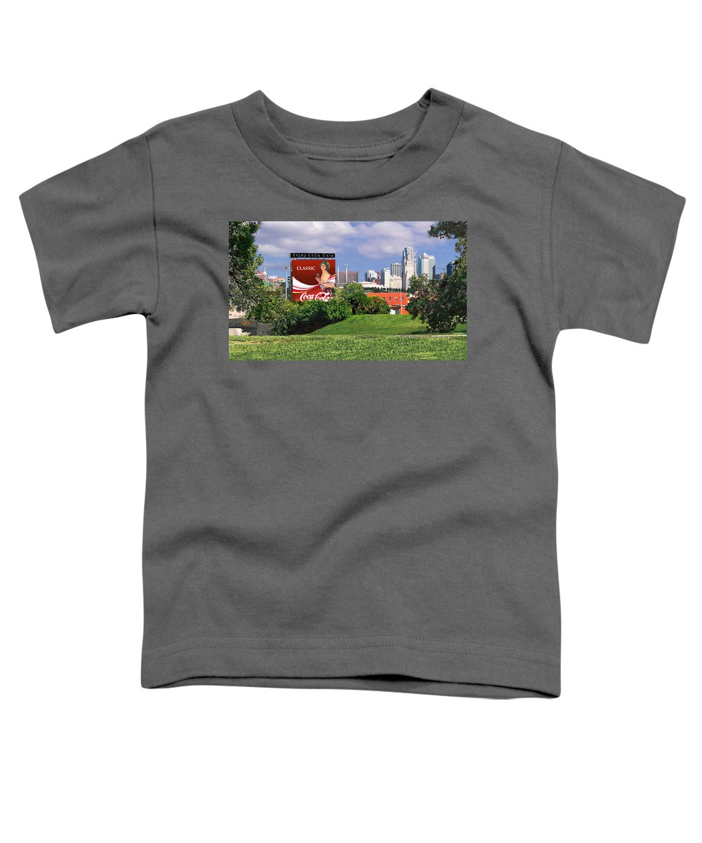 Landscape Toddler T-Shirt featuring the photograph Classic Summer by Steve Karol
