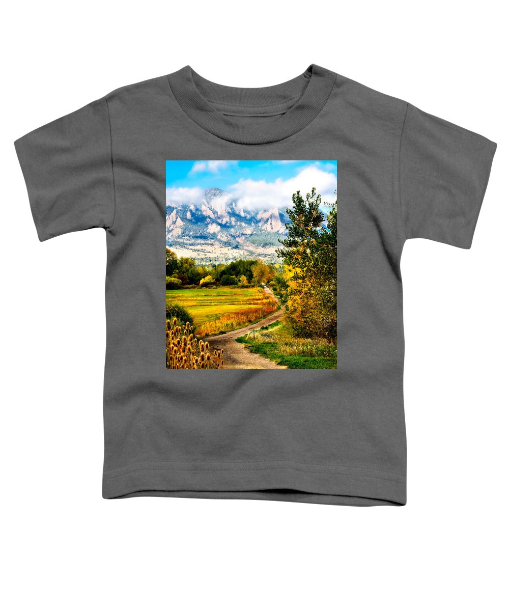 Americana Toddler T-Shirt featuring the photograph Clearly Colorado by Marilyn Hunt